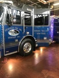 Cowboys colors look good on a fire engine.